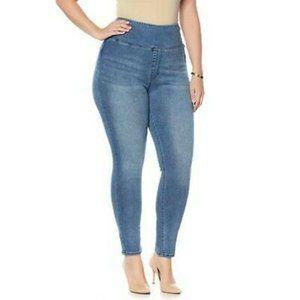 DG2 Diane Gilman Comfort Stretch pull on jeans 2x